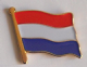 Netherlands Country Flag Enamel Pin Badge
